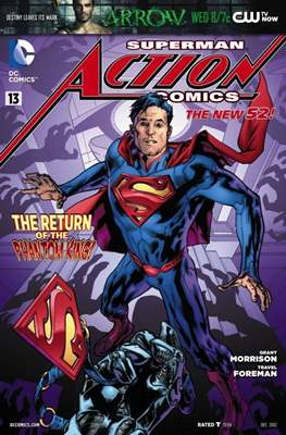 Action Comics Vol. 2 (2011-2016) (Grapa) #13