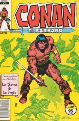 Conan el Bárbaro (1983-1994) (Grapa. 19x27. 36/32/24 páginas. Color.) #32