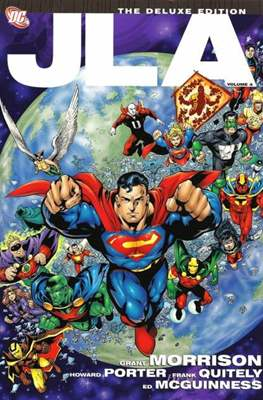 JLA Vol. 1 (1997-2006) The Deluxe Edition (Hardcover) #4