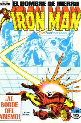 Iron Man Vol. 1 / Marvel Two-in-One: Iron Man & Capitán Marvel (1985-1991) (Grapa, 36-64 pp) #19