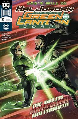 Hal Jordan and the Green Lantern Corps (2016-2018) (Comic-book) #37
