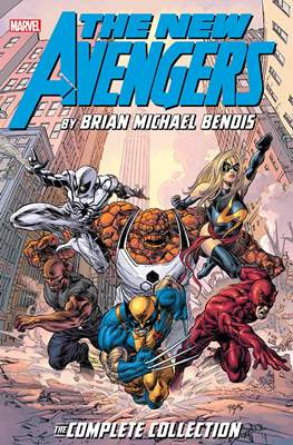 The New Avengers by Brian Michael Bendis: The Complete Collection (Softcover) #7