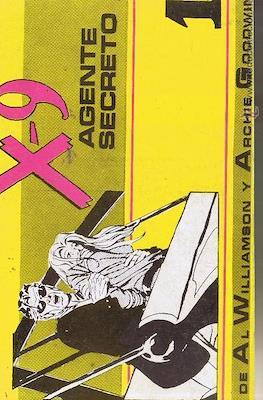 X-9 Agente secreto (Rústica 80 pp) #1
