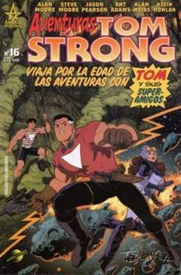 Aventuras de Tom Strong (2003-2004) (Grapa 24-32 pp) #16