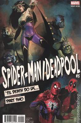 Spider-Man / Deadpool (Variant Cover) (Comic Book) #15.1