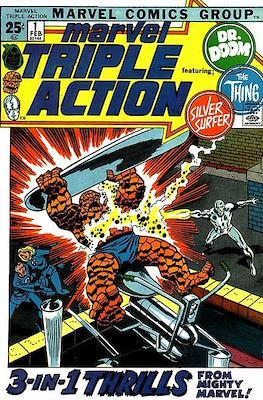 Marvel Triple Action Vol 1 (Comic-book.) #1