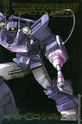 Transformers: Spotlight - Shockwave (Variant Cover) (Comic book 32 pp) #1.3