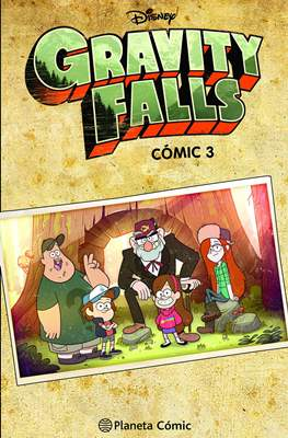 Gravity Falls (Rústica 240-96 pp) #3