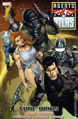 Agents of Atlas Vol. 2 (2009) (Softcover) #2