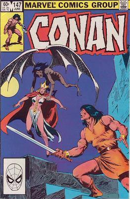 Conan The Barbarian (1970-1993) (Comic Book 32 pp) #147