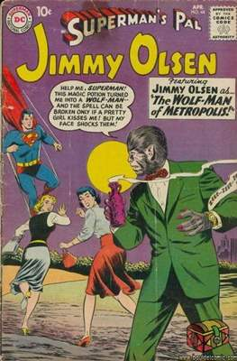 Superman's Pal, Jimmy Olsen / The Superman Family (Comic Book) #44