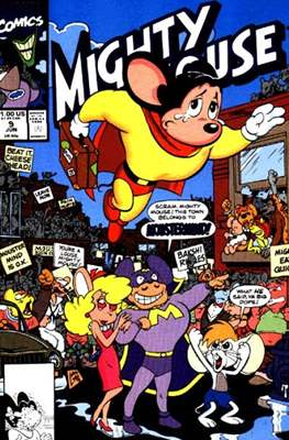 Mighty Mouse (Comic-book.) #9