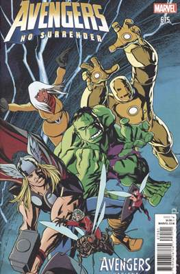 The Avengers Vol. 7 (2016-...Variant Covers ) (Grapa) #675.2