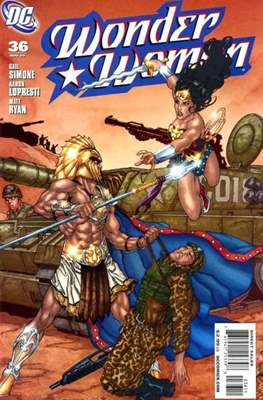 Wonder Woman Vol. 3 (2006-2011) (Comic Book) #36