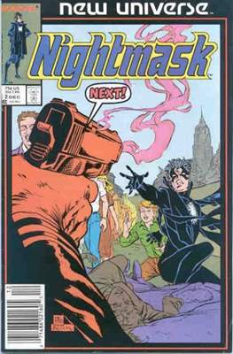 Nightmask (Comic-book.) #2
