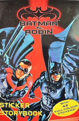 Batman & Robin Sticker Storybook