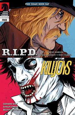 Mass Effect / Killjoys / R.I.P.D. Free Comic Book Day 2013