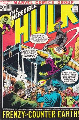 The Incredible Hulk Vol. 1 (1962-1999) #158