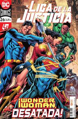 Liga de la Justicia. Nuevo Universo DC / Renacimiento (Grapa) #104/26