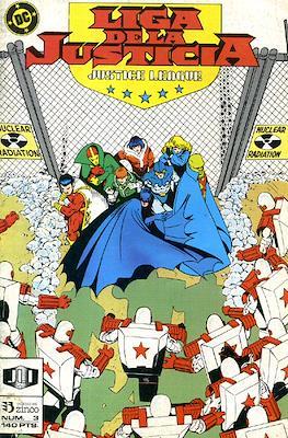 Liga de la Justicia / Liga de la Justicia internacional / Liga de la Justicia de America (1988-1992) (Grapa) #3
