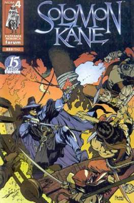 Solomon Kane (1998) (Grapa. 17x26. 48/24/40 páginas. Color) #4