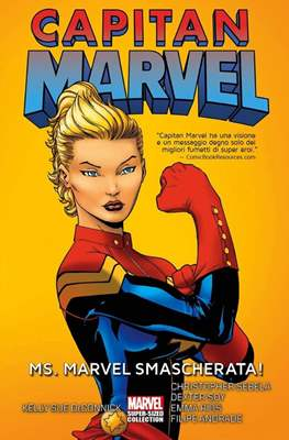 Capitan Marvel - Marvel Super-Sized Collection (Cartonato 256 pp) #1