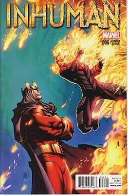 Inhuman (2014-2015 Variant Cover) (Comic Book) #6