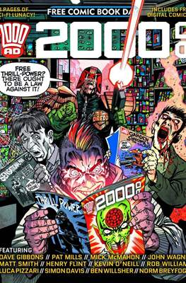 2000 AD - Free Comic Book Day