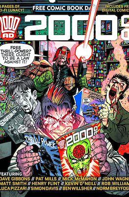 2000 AD - Free Comic Book Day 2015