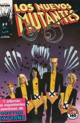 Los Nuevos Mutantes Vol. 1 (1986-1990) (Grapa 32-64 pp) #25