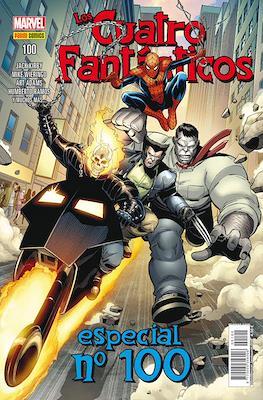 Los 4 Fantásticos / Los Cuatro Fantásticos Vol. 7 (2008-) (Grapa 24-48 pp) #100