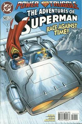 Superman Vol. 1 / Adventures of Superman Vol. 1 (1939-2011) (Comic Book) #542