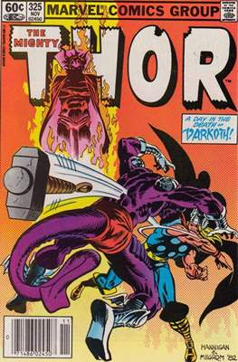 Journey into Mystery / Thor Vol 1 (Comic Book) #325