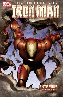 The Invincible Iron Man Extremis #6