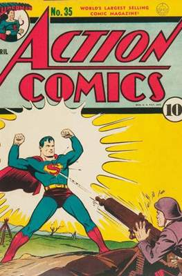 Action Comics Vol. 1 (1938-2011; 2016-) (Comic Book) #35