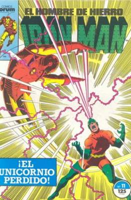 Iron Man Vol. 1 / Marvel Two-in-One: Iron Man & Capitán Marvel (1985-1991) (Grapa, 36-64 pp) #11