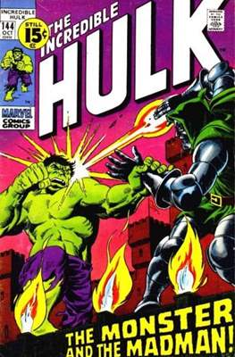 The Incredible Hulk Vol.1 (Saddle-stitched. 1962-1999) #144