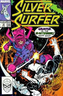 Silver Surfer Vol. 3 (1987-1998) #18