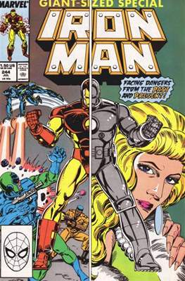 Iron Man Vol. 1 (1968-1996) (Comic book) #244
