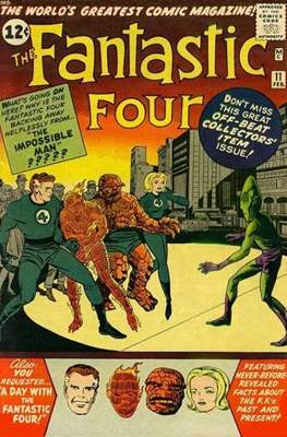 Fantastic Four Vol. 1 (1961-1996) #11