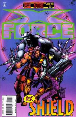 X-Force Vol. 1 (1991-2002) (Comic Book) #55