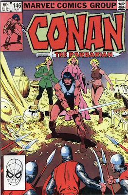 Conan The Barbarian (1970-1993) (Comic Book 32 pp) #146