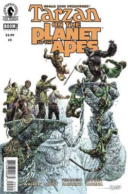 Tarzan on the Planet of the Apes (2016) #2