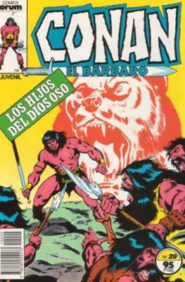 Conan el Bárbaro (1983-1994) (Grapa. 19x27. 36/32/24 páginas. Color.) #29