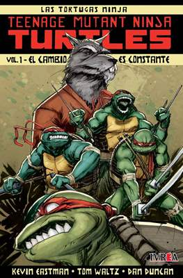 Las Tortugas Ninja - Teenage Mutant Ninja Turtles (Rústica) #1