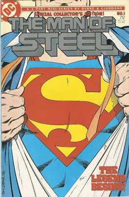The Man of Steel (Comic-book) #1