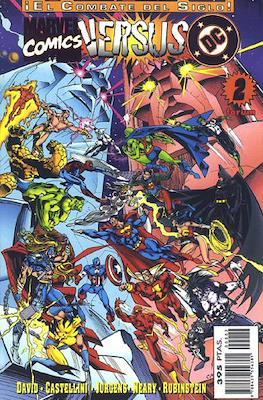 DC versus Marvel / Marvel versus DC (1996-1997). ¡El combate del siglo! (Grapa.) #2