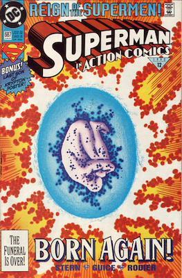 Action Comics Vol. 1 (1938-2011; 2016-) (Comic Book) #687