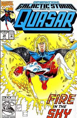 Quasar Vol. 1 (1989-1994) (Comic.Book) #34