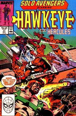 Solo Avengers / Avengers Spotlight (Comic book) #11